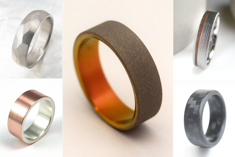 Ring Cycle : Unique Wedding Bands for All