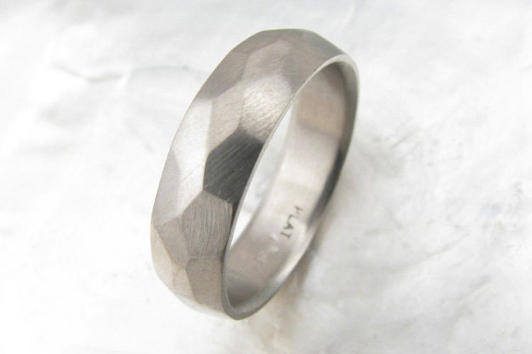 Mens Modern Wedding Rings 001