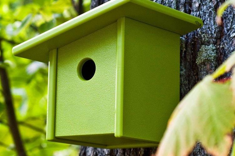 Pitch Birdhouse by Loll Designs