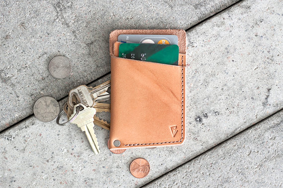 minimal leather wallet by fullgive