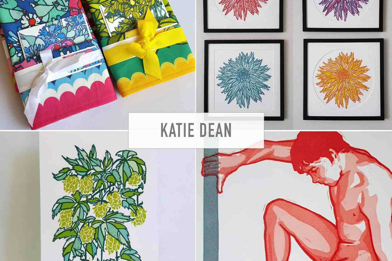 Katie Dean Printmaker Artist Tacoma Washington Etsy