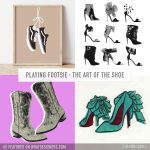 Playing Footsie Shop Art Posters from Independent Artists Designers Makers