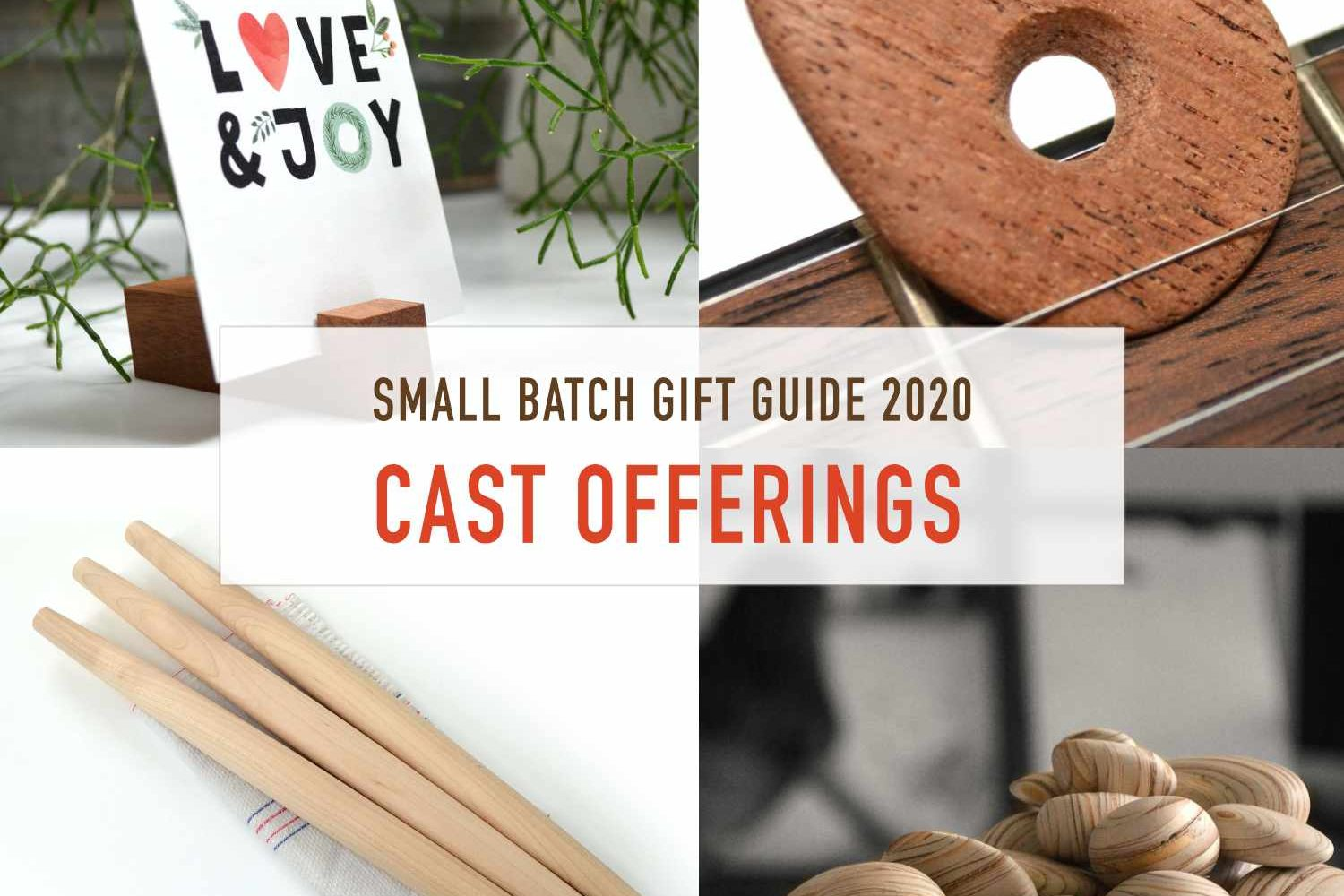 Cast Offerings Eco Wood Home Accessories & Gifts