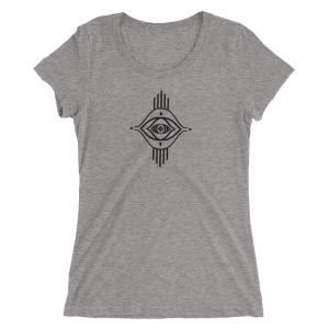Eyela All Seeing Eye Unisex T shirt Yoga Top