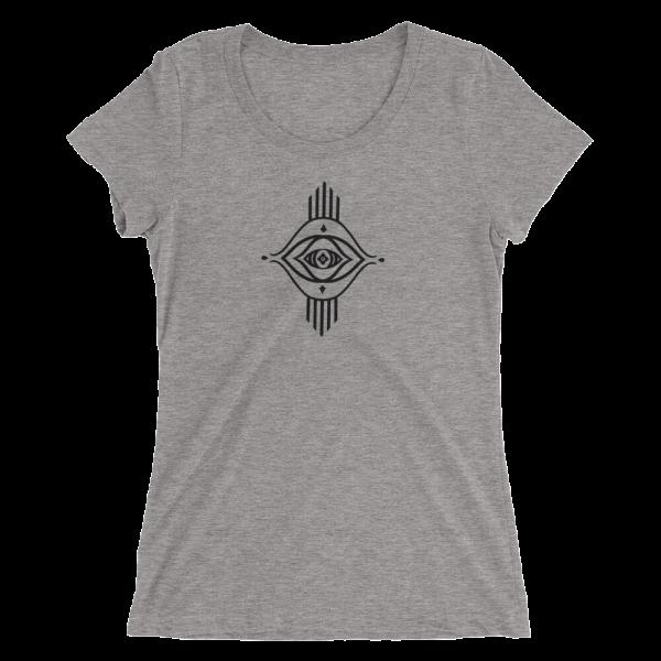 Eyela All Seeing Eye Unisex T shirt Yoga Top