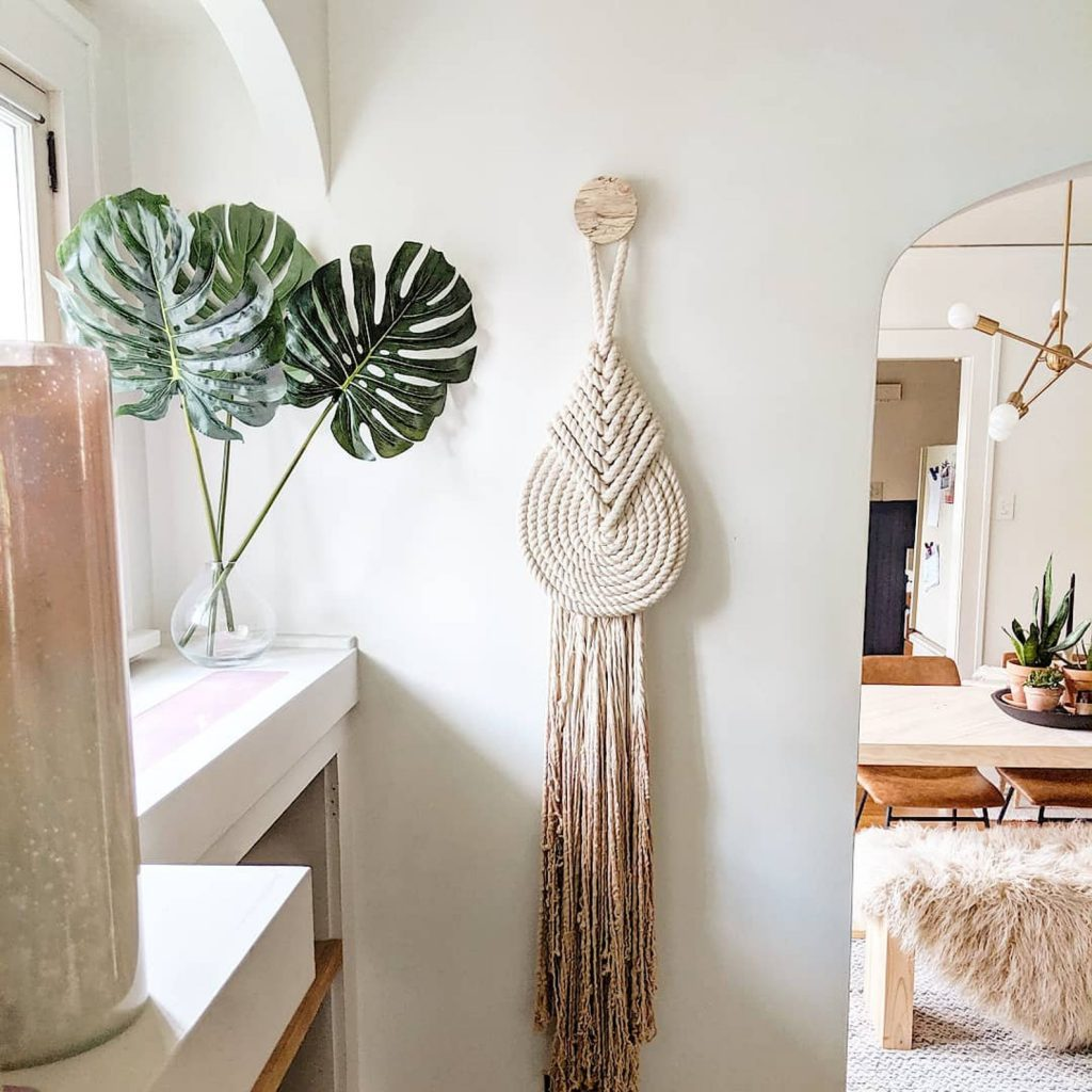 Lyric Macrame Art Wall hanging